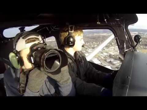Cessna 162 Sky Catcher   Indianapolis City Tour  