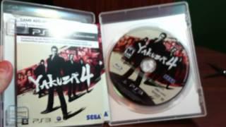 Yakuza 4 (Sony PS3) | Unboxing 52 | HD