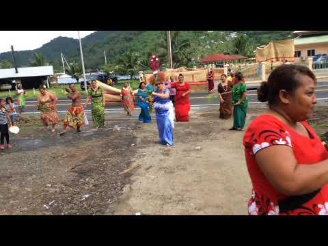 Leatitagaloa Family Ta'alolo at Pago Pago, American Samoa