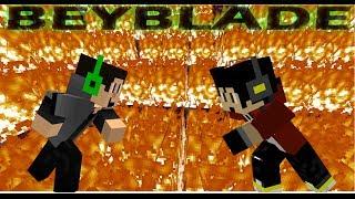 Minecraft NEW minigame BeyBlade-- LET IT RIP!