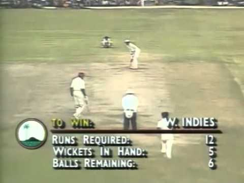 West Indies v Pakistan 5th ODI Georgetown 1993 - Gripping finale to the deciding game
