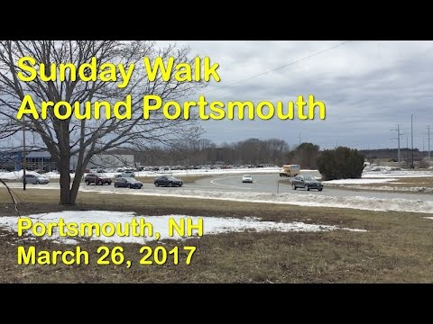 Sunday Walk in Portsmouth NH with Jan