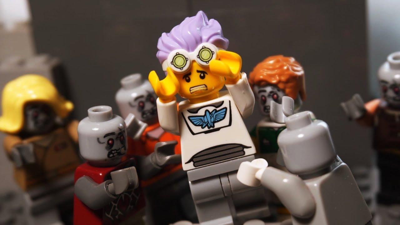 레고 좀비 스톱모션 타이머 단편 (가디언즈 프리퀄)