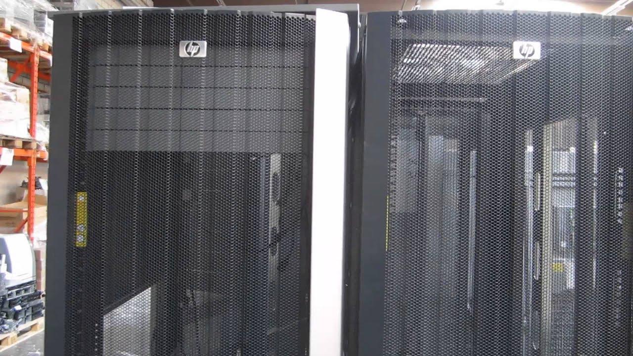 For Sale: 18 X HP 10642 G2 / G1 42U Server Racks   YouTube