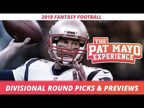 2018 Fantasy Football - NFL Divisional Round Picks, Game Pre