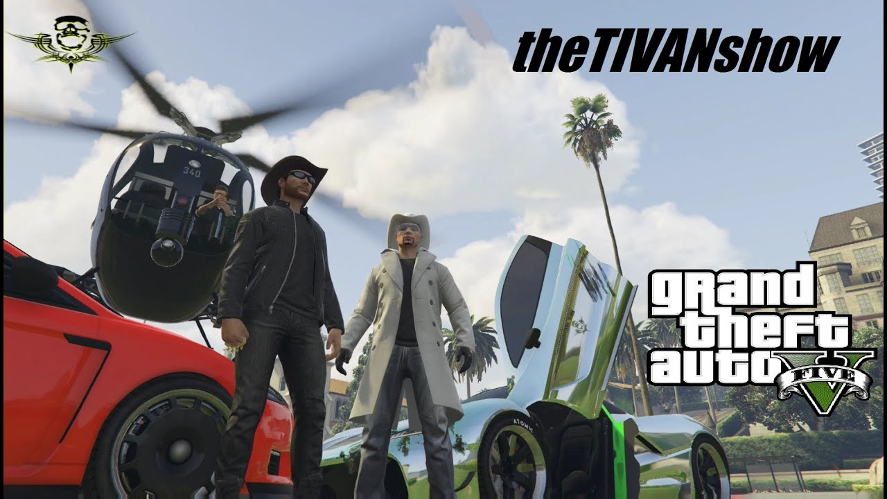 GTA5 - GOOFING AROUND FREE ROAM with FRIENDS - PS4 - LIVE