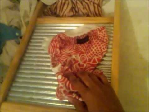 How To Wash Clothes On A Washboard