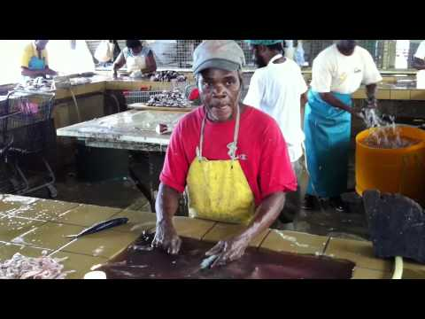 Flying Fish Fish Bridgetown Fish Market - Barbados 2