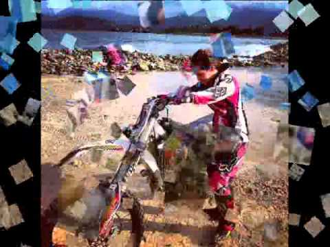 Abigail Reyes en el motocross