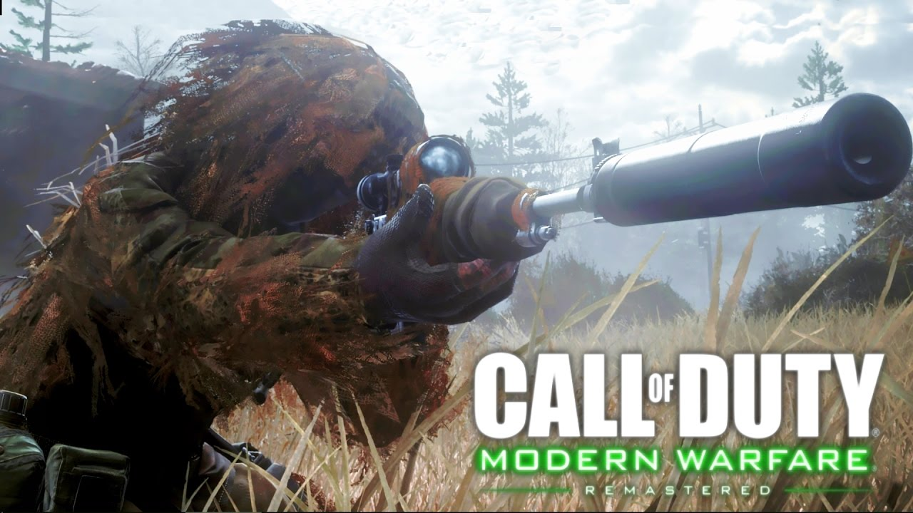 Call Of Duty 4 Modern Warfare Remastered All Ghillied Up Sniper