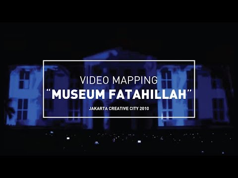 Video Mapping Museum Fatahillah - Jakarta Creative City 2010 Travel Video