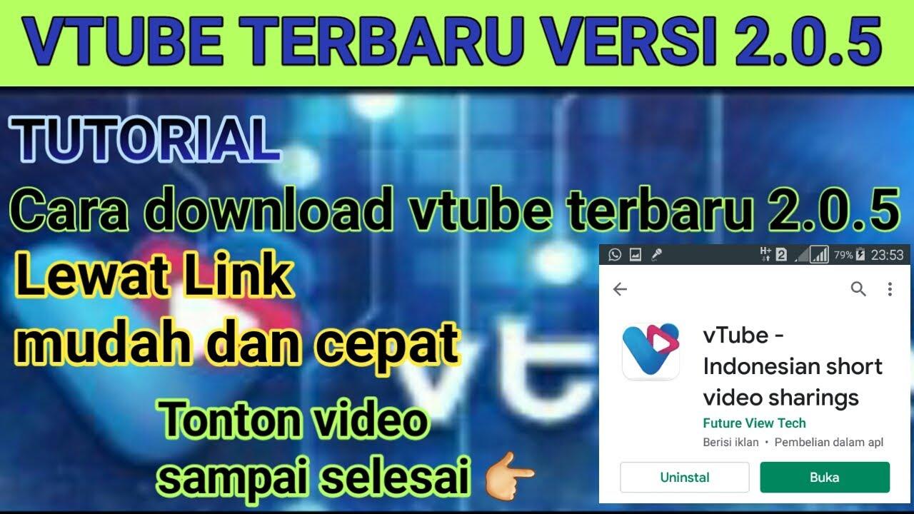 Tutorial Download Dari Link Vtube Terbaru Versi 2 0 5 Mudah Dan Cepat Youtube