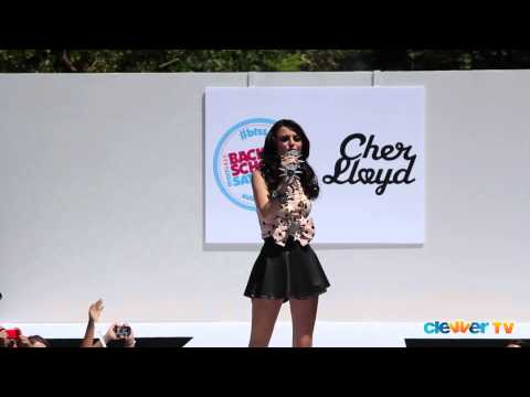"""Cher Lloyd """"With UR Love"""" Live at Teen Vogue Back-To-School Event"""