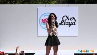 cher lloyd with ur love live at teen vogue back to school event