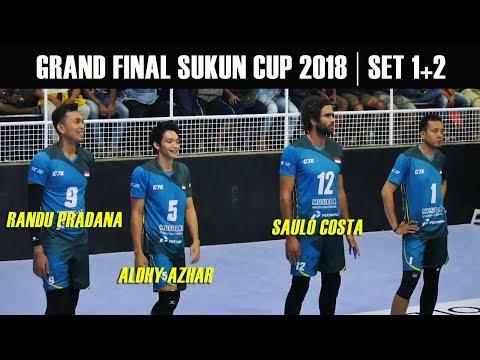 Perang pemain bintang di Final || Sukun Badak VS C7K || Sukun Cup 2018 Full Set 1+2
