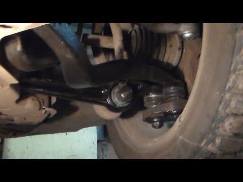 Видео отчёт:передняя ходовая,замена рычагов мазда 6.