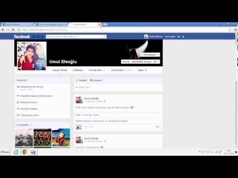 Facebook Profile Girenleri Bulma Programsız !