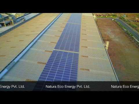 Natura Eco Energy - 200KW - Rooftop - Chakan, Pune