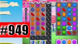Candy Crush Saga Level 949 (NEW) | Complete!