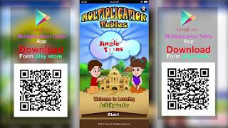 Multiplication Tables | Android App | Educational Games by Jingle Toons