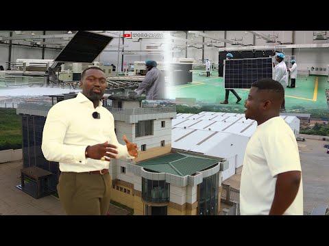 The Ghanaian Family Behind $50 Million Dollar Solar Manufacturing Plant!