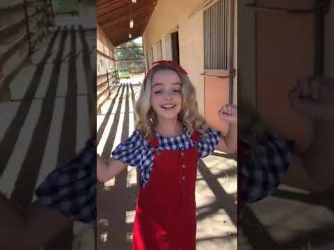 Mckenna Grace 280917 Live Instagram Part1