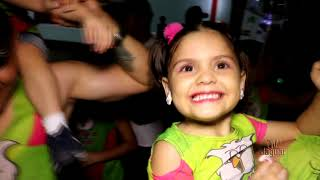 Tote Barreto agitou a criançada no Limofolia kids 2020