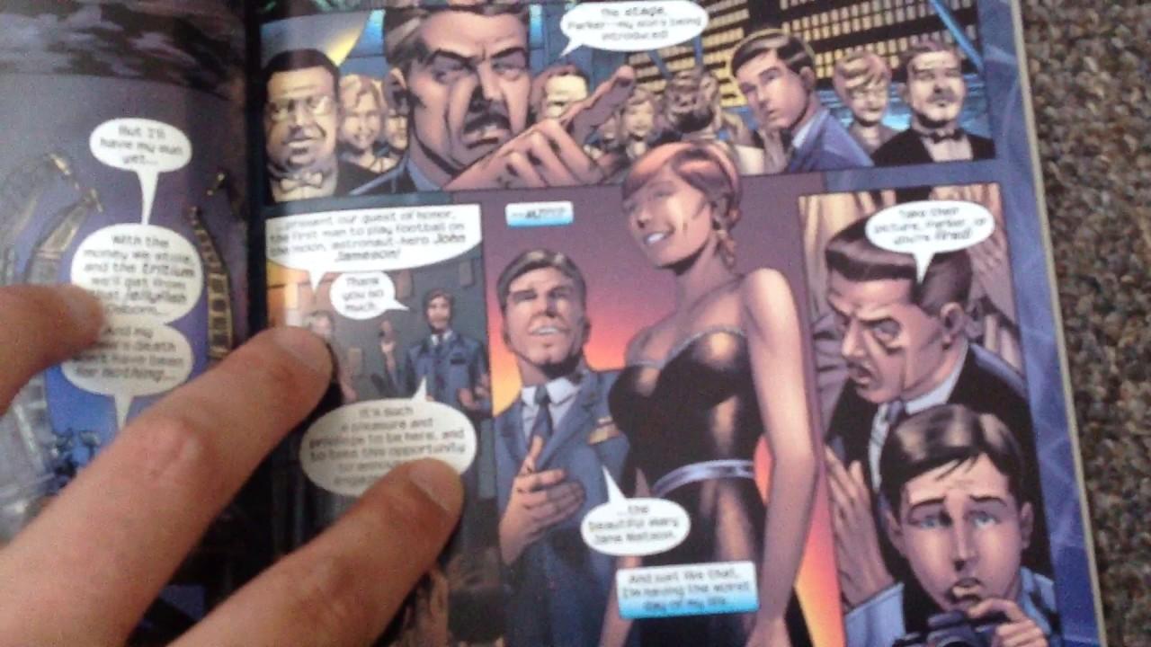 Spider-Man 2 Movie Comic Adaptation Graphic Novel 2004 Marvel Comics