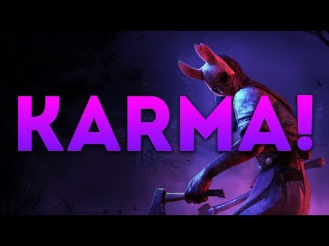 Dead by Daylight WITH...HUNTRESS! - KARMA!