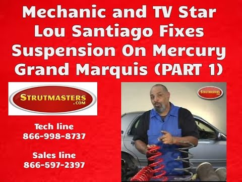 lou santiago on how to fix the suspension on a mercury marquis (part 2000 Mercury Grand Marquis Front End Parts Diagram lou santiago on how to fix the suspension on a mercury marquis (part 1 of 3)