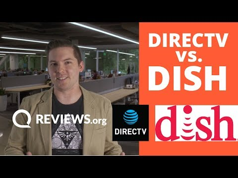 DISH vs DIRECTV 2017  Satellite TV down