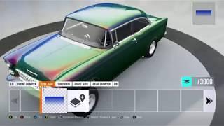 Forza Horizon 3 Chameleon Paint Job Tutorial - Color shift Paint Tutorial