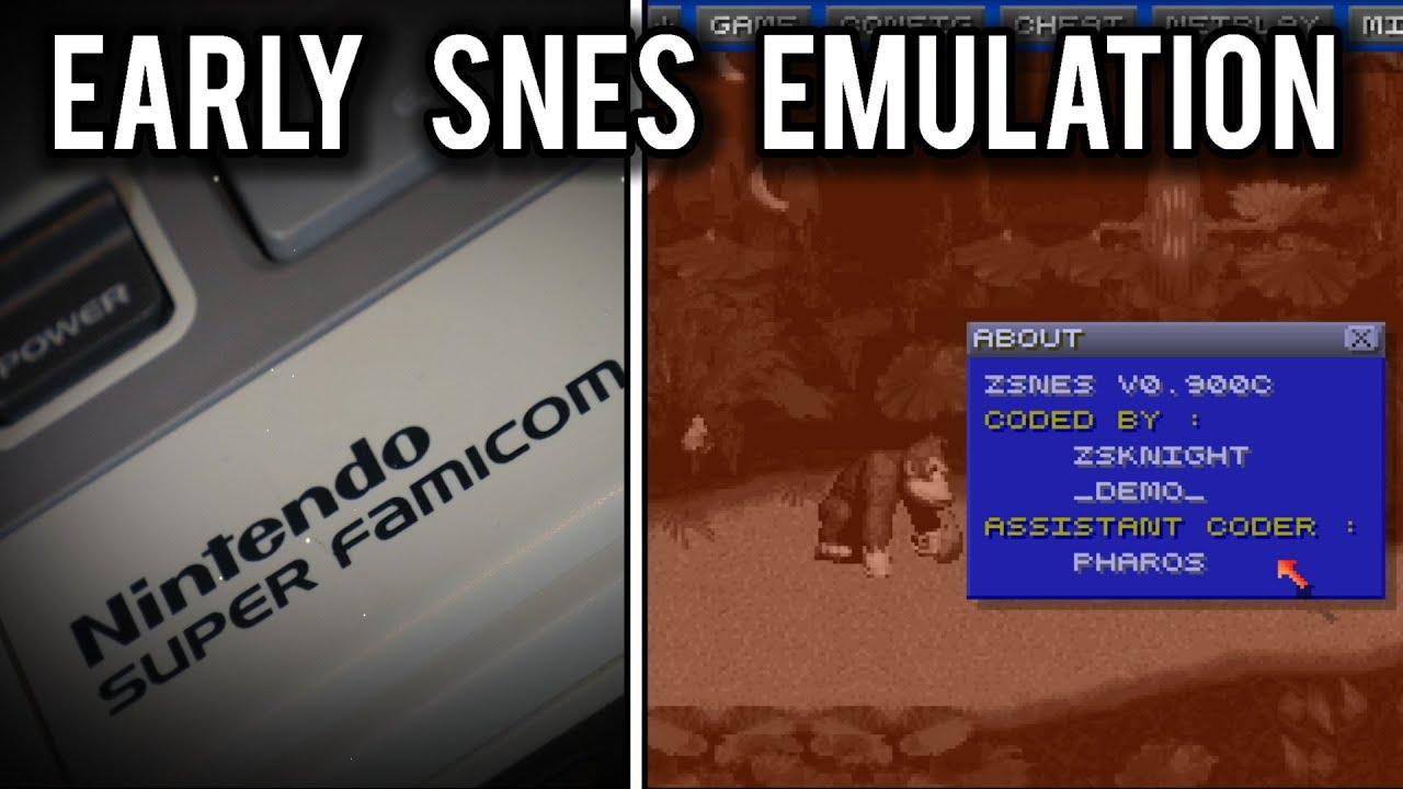 The SNES Emulation War of 1997 | MVG