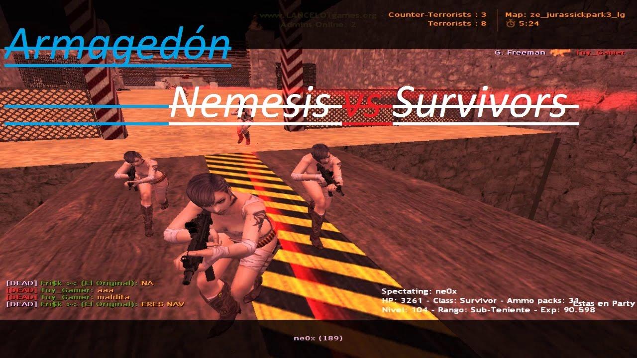 Download Fin del Mundo / Nemesis vs Survivors / LANCELOTgames [ Extra ] CristhiaN CS