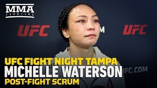 UFC Tampa: Michelle Waterson Fights Back Tears After Loss to Joanna Jedrzejczyk - MMA Fighting