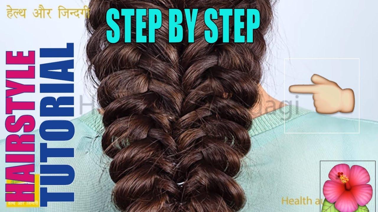 Double Sagar Choti Hairstyle | Easy Hairstyles | Balo ke hairstyle - YouTube