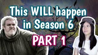 Game of Thrones - Season 6 Confirmed Scenes PART 1