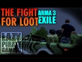 ARMA 3 Exile | The Fight For Loot - S02E03