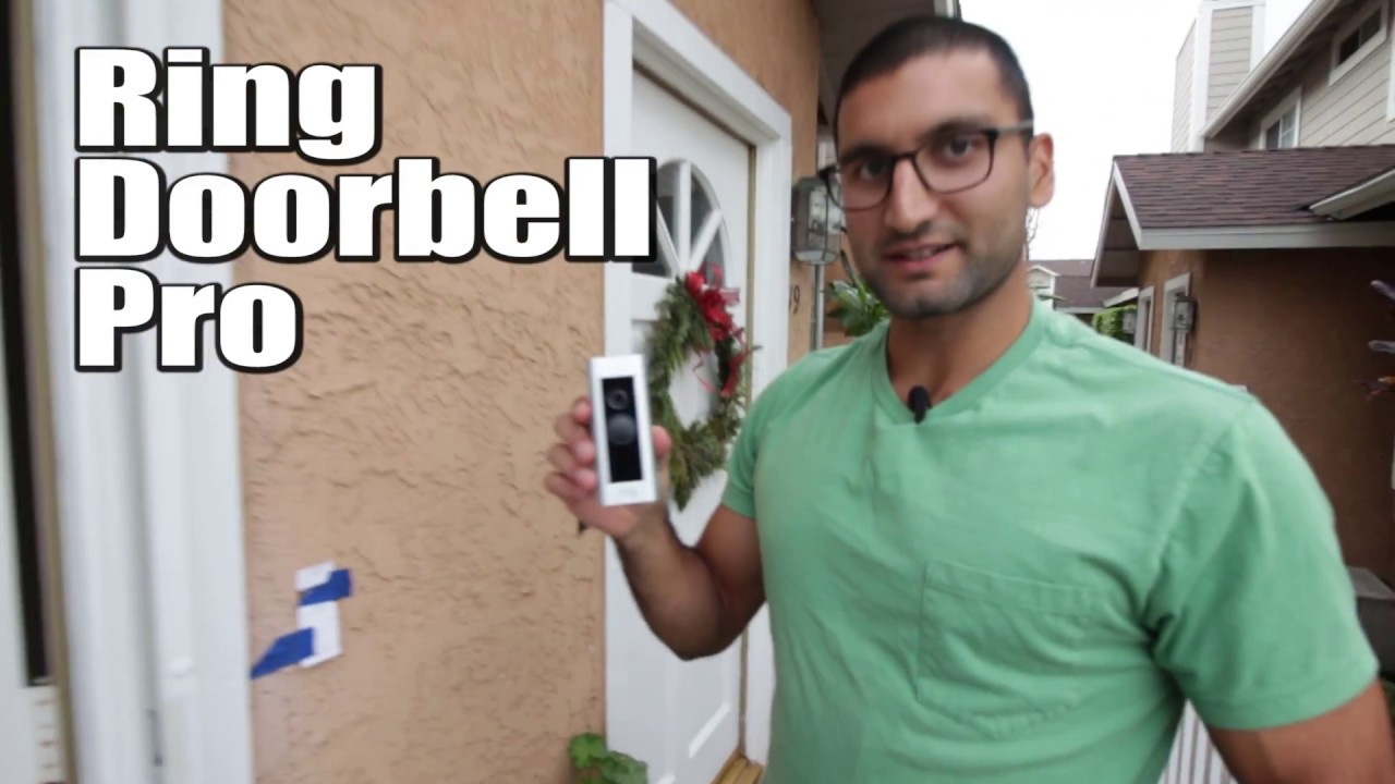 Ring Video Doorbell Pro Install On Stucco Youtube Home Wiring