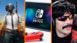 PUBG's Big Player Dip + Nintendo Switch Online Details + Dr Disrespect's Home Attacked