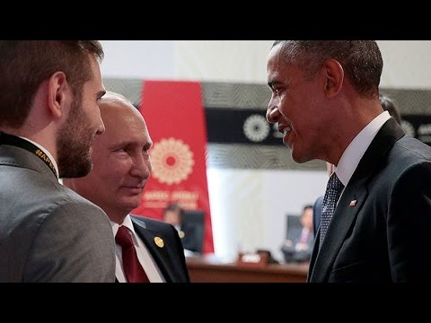 Obama & Putin talk Syria, Ukraine at APEC summit