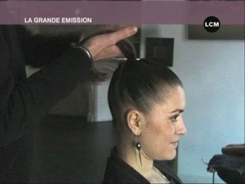 femmes des coiffures tendances pour le mariage youtube. Black Bedroom Furniture Sets. Home Design Ideas