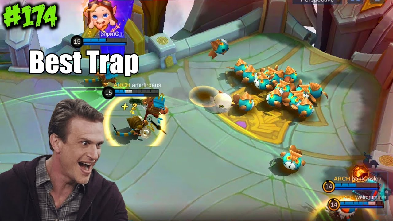 Mobile Legends WTF | Funny Moments Episode 174: The Best Trap