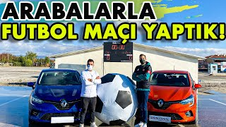 Dev Topla ⚽️ Arabalarla Futbol Maçı Yaptık!