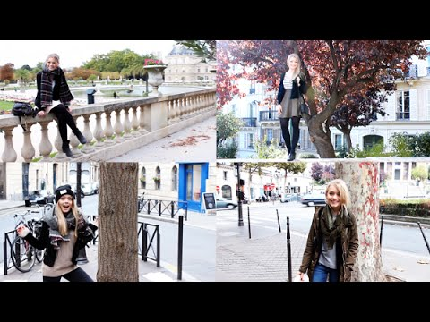 4 Herbst Outfits  Inspirationen Aus Paris  Youtube