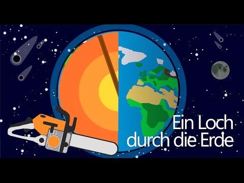 Kann man ein Loch durch die Erde graben? - Schnellgedacht