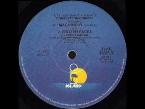 PROPAGANDA - P-MACHINERY (BETA) (℗1985)