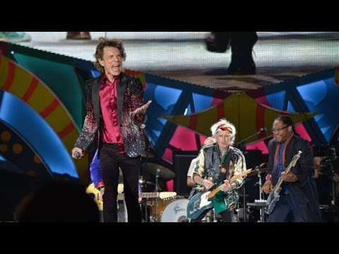Rolling Stones play free concert in Cuba