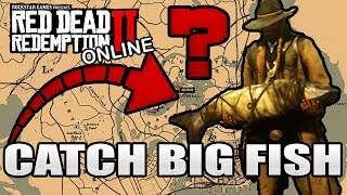Red Dead Redemption 2 Online: Where To Find How To Catch Big Game Fish: 1 Cat Fish
