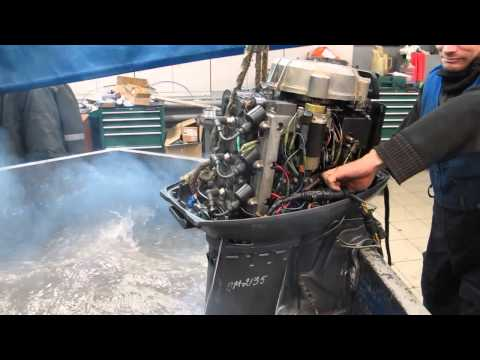Мотор лодочный Yamaha 50, б/у 1999 г.в.